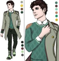 Entry for Green Menswear Design Contest by LittleVioletGhost