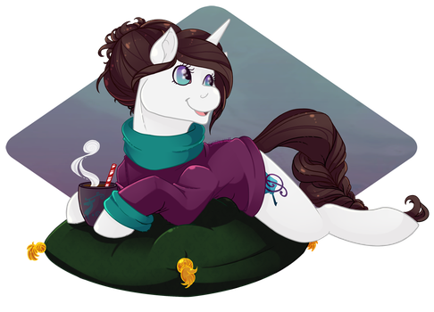 Warm Cup of Coco by RottingRoot