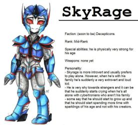 :TfP OC: SkyRage by MikuParanormal