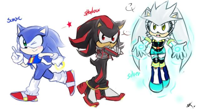 Genderbend:sonic collection by sosokrazy