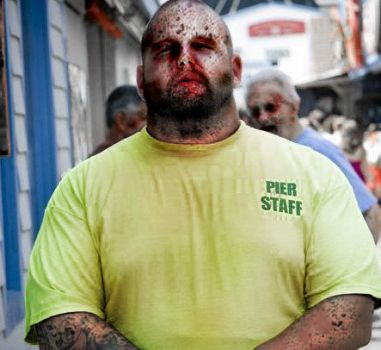 bouncer zombie by bjbrizee7