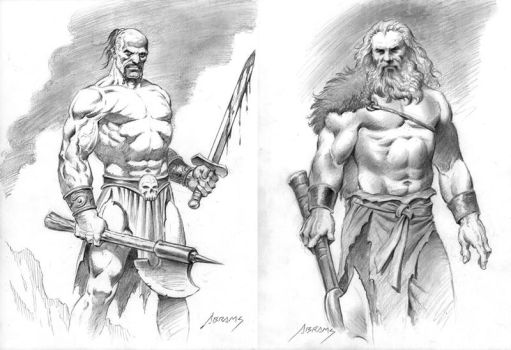 barbarians by PaulAbrams