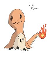 Mimikyu: Charmander Version by ptrguimaraes