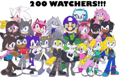 Thank You all my friends and for 200 Watchers!!! by Silverxtreme56