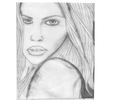 Sophie Monk Portrait by TheNobody1990