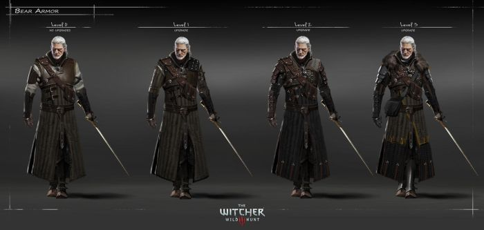 The Witcher 3 Wild Hunt-Bear armour HQ by Scratcherpen
