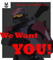 Halo - Recruitment Poster by Unit957