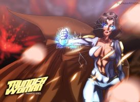 THUNDERWOMAN ANIMATED by andrew-henry