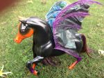 Custom Barbie Horse Bat by djvanisher