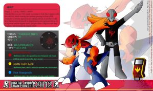 DWC 2012-Takeshi and BeatDramon profile. by SkeithTerror01