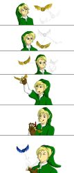 Link vs Golden Snitch by TAMAnnoying