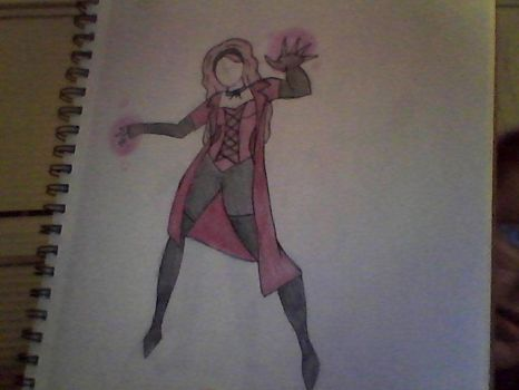 Scarlet Witch Modern Movie Design by burtonmanrocks19