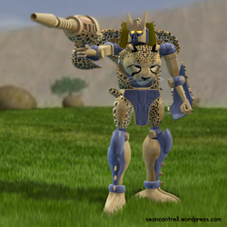 Beast Wars Cheetor by seancantrell