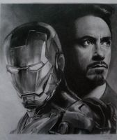 Iron Man by kevsanArt
