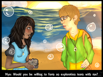 Would you be willing to form an exploration team? by myamyamya123