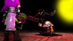 (SFM Splatoon) Gul Inkling VS Demon Inkling Maeka by ralphsoliman