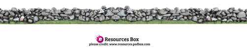 Rock Wall PNG Stock by Andrei-Oprinca
