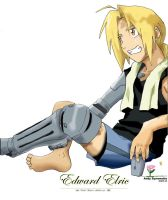 Edward Elric Relaxing 2005 by ateam1621