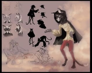 Cat in The Bremen Town Musicians by Orphen-Sirius