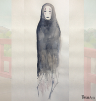 No Face - Spirited Away by Maybellez