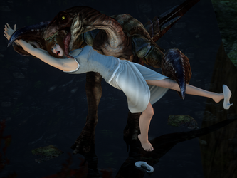 Jurassic World: in the clutches the Crabtor! by VoreQ