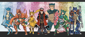 Pokemon Legends Team layout by bulletproofturtleman