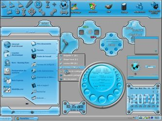 Color+OS Blue suite by Xav73