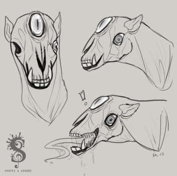 Monster Headshots by Sephinta