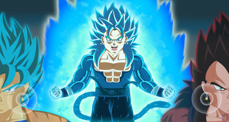 Vegito ~ Fusion between timelines V2 by SD8bit