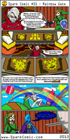 Spark Comic 55 - Rainbow Gate by SuperSparkplug