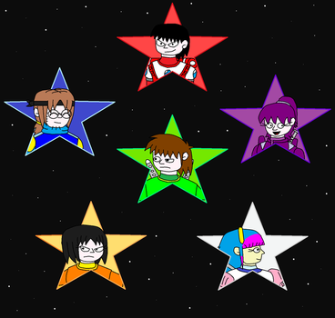 Super Stars by scifiguy9000