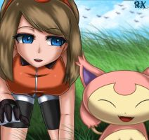 May and Skitty