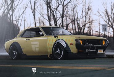 Toyota Celica by rainprisk