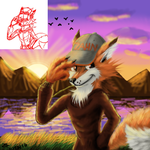 Zahnh-the-fox by zahnholley