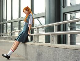 Asuka Langley - Ordinary day by Re-Aska