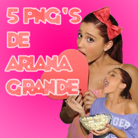 Ariana Grande Pack Png's by ToraLoex