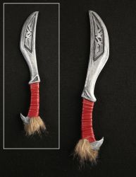 Nordic Carved Dagger - Skyrim Prop - For Sale by XiliansFan