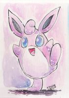 Watercolor Wigglytuff
