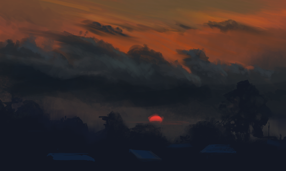 Red Sky by AppleSin