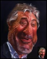 Caricature to R. de Niro by creaturedesign