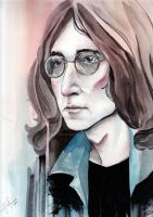 JOHN LENNON by abusedmember