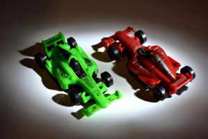 Toy Car by yunkaerphotographic