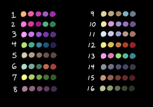Palette Challenge 1 by TheComicStream
