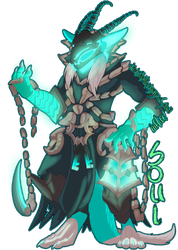 Soul/Thresh League of Legends Badge by LadyDistort