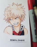 Katsuki Bakugou + Speedpaint! by Electric-Empire