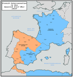French Intervention in the Spanish Civil War by Charles471