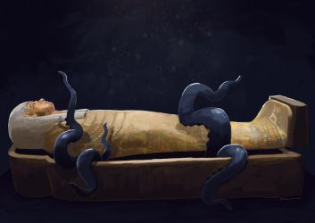The Sarcophagus by tohdraws