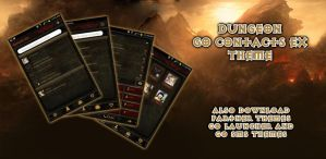 Diablo Dungeon Android Go Contacts Theme by Jekmyster