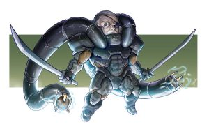 Solidus Snake by eko999