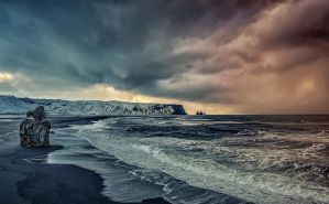 In the middle of winter storms by PatiMakowska